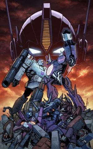 Transformers News: Transformers: Dark Cybertron #12 Cover
