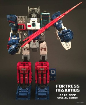 Transformers News: Transformers Titans Return San Diego Comic Con Fortress Maximus Revealed