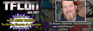 Transformers News: Transformers Designer Aaron Archer to Attend TFcon USA 2017