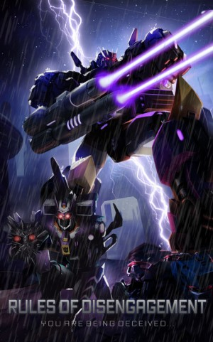 Transformers News: Transformers: Legends Mobile Device Game 'Rules of Disengagement' Episode