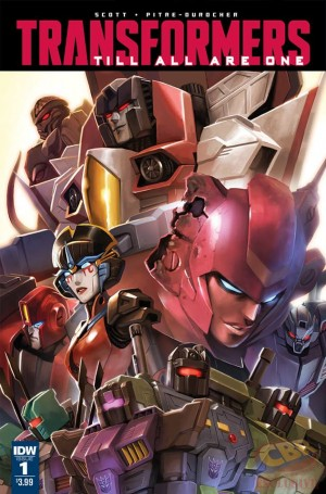 Sneak Peek - IDW Transformers: Till All Are One #1 iTunes Preview #TAAO