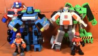 Transformers News: Transformers: Rescue Bots Medix the Doc Bot and Hoist the Tow Bot Review