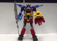 Transformers News: Video Reviews of Transformers Go! Samurai Team