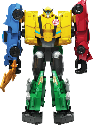 Official Images of Transformers Robots in Disguise Combiner Force #HasbroToyFair #NYTF