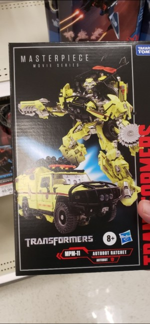 Transformers Movie Masterpiece MPM-11 Ratchet Found at U.S. Retail