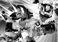 Transformers GT Manga Translated