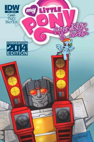 Transformers News: My Little Pony #19 Transformers Crossover Convention Exclusive Cover Revealed