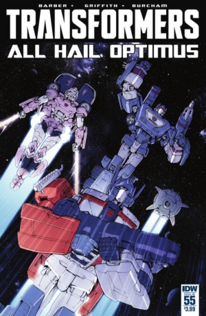 Transformers News: IDW The Transformers #55 Full Preview