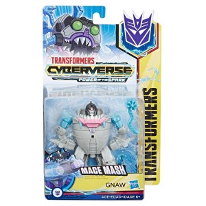 Transformers News: New Stock Photos and Packaging Image for Transformers Cyberverse Warrior Class Gnaw