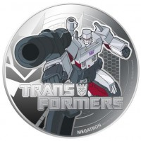 Transformers News: TRANSFORMERS 1oz Silver 2 Coin Set