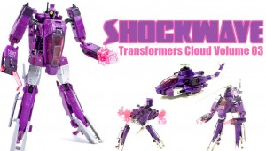 Transformers News: Video Review - Transformers Cloud Voyager Shockwave