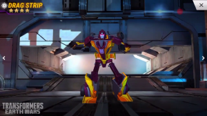 Transformers News: Transformers: Earth Wars Dragstrip and Hound First Look Videos