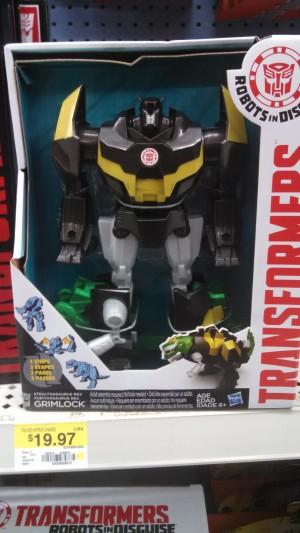 Transformers News: Robots in Disguise Stealthasaurus Rex Grimlock Sighted at US retail