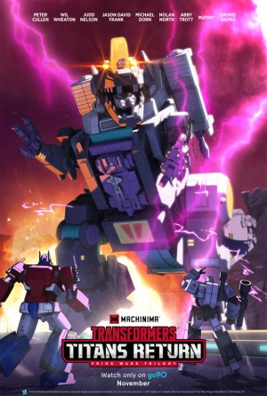 Transformers News: First Two Episodes of Machinima's Transformers Titans Return Animated Series Released