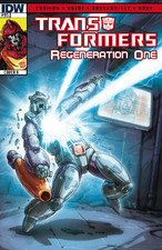 Transformers News: Sneak Peek: Transformers: Regeneration One #93 Three Page Preview