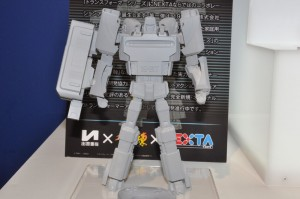 Transformers News: Takara Tomy Arts Summit Report - More Images and Video of Mega Drive Megatron