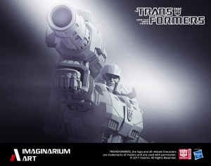 Transformers News: Teaser for Imaginarium Art Megatron Statue