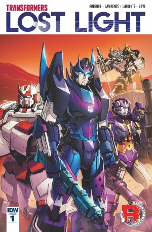 Transformers News: IDW Lost Light Writer James Roberts to Take Break from Transformers