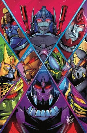 IDW Transformers Comics Solicitations For February 2021