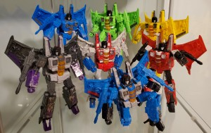 Transformers News: Images of all Seven Transformers Siege Seekers Together