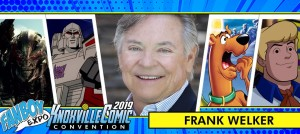 Frank Welker to Attend FanboyExpo Knoxville 2019