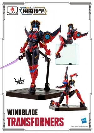 Flame Toys Reveal Prototype Furai Windblade Model