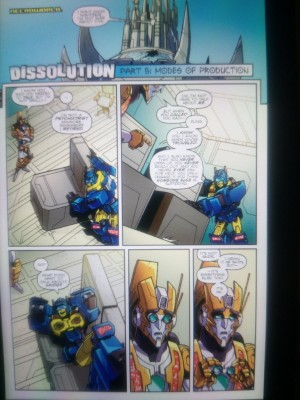 Transformers News: IDW Transformers: Lost Light #5 fixed Preview