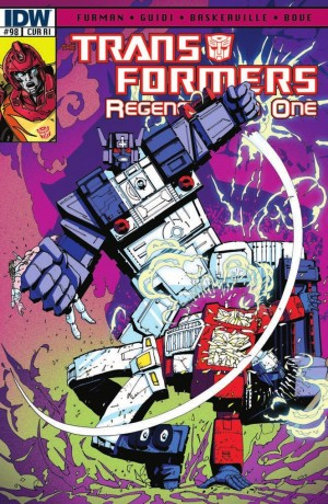 Transformers News: IDW Transformers: ReGeneration One #98 Review