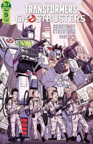 Transformers News: IDW Transformers Ghostbusters Ghosts of Cybertron Part 5 Review