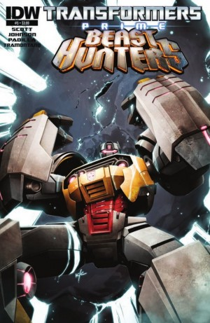 IDW Transformers Prime: Beast Hunters #5 Preview