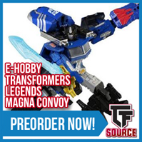 TFsource News! TR Deluxe Wave 3, Shattered Glass Prime, Lupus, Tumbler, Magna Convoy & More!