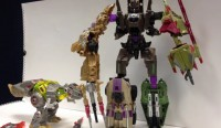 Transformers News: Platinum Edition Grimlock vs Bruticus Video Review