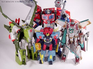 Top 10 Best Transformers Toys from the Cybertron / Galaxy Force line