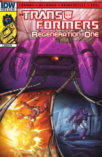 Transformers News: Transformers: Regeneration One #89 Preview