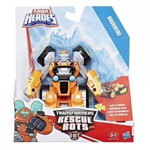Transformers News: Video Review of Transformers: Rescue Bots Brushfire