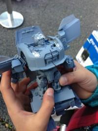 Transformers News: Takara Tomy Super GT Optimus Prime Prototype Images