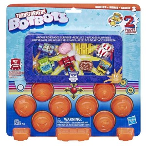 New Arcade Themed Transformers Botbots Revealed