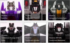 Top 5 Best Skywarp Transformers Toys so Far