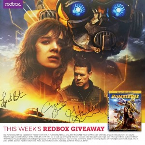 Transformers News: Win the Bumblebee Movie on Blu-ray and a Signed Poster from Redbox