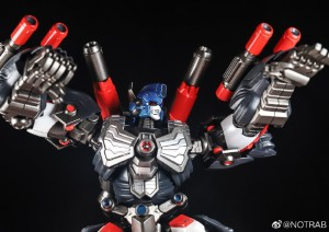 The Boss Monkey gets a New Look in Upcoming Flame Toys Transformers Figure