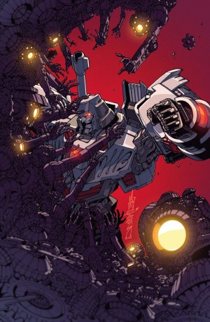 IDW Transformers: Lost Light #6 cover by Alex Milne