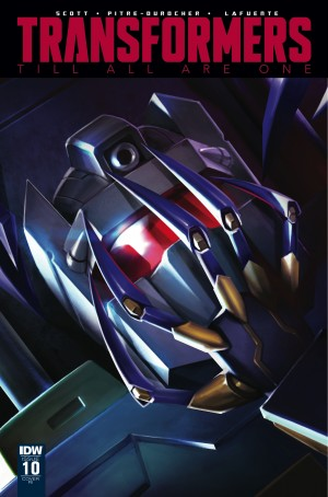 Transformers News: Variant Cover for IDW Transformers: Till All Are One #10 by Sara Pitre-Durocher