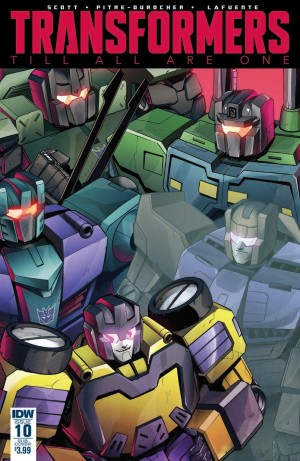 Review for IDW Transformers: Till All Are One #10
