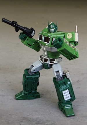 Transformers News: In-Hand Images MP-10 Convoy BAPE version