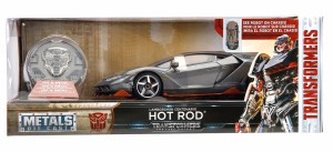 Jada Transformers: The Last Knight Hot Rod 1:24 Scale Model Unveiled