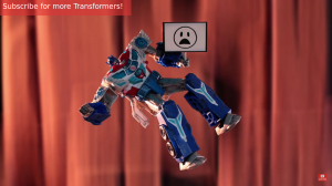 Transformers News: Transformers: Robots in Disguise Stop Motion Clips: Power Surge Optimus, Sideswipe and Bumblebee