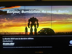 Bumblebee Movie Part of Goodbye Beetle Campaign from Volkswagen