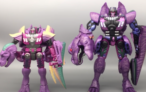 Video Review for Transformers Kingdom Leader T-Rex Megatron