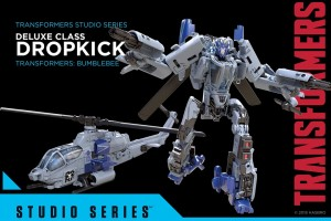 Transformation Video for Transformers Studio Series 22 Dropkick