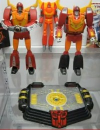 Transformers News: Transformers 2010 MP-09 Rodimus Convoy Sound Stage